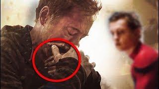 ¿Por que Razón Tony Stark ''Iron-Man'' Llora en el Trailer de los vengadores Infinitywar? streaming