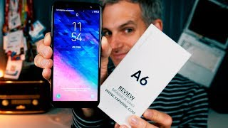 Samsung Galaxy A6 Unboxing