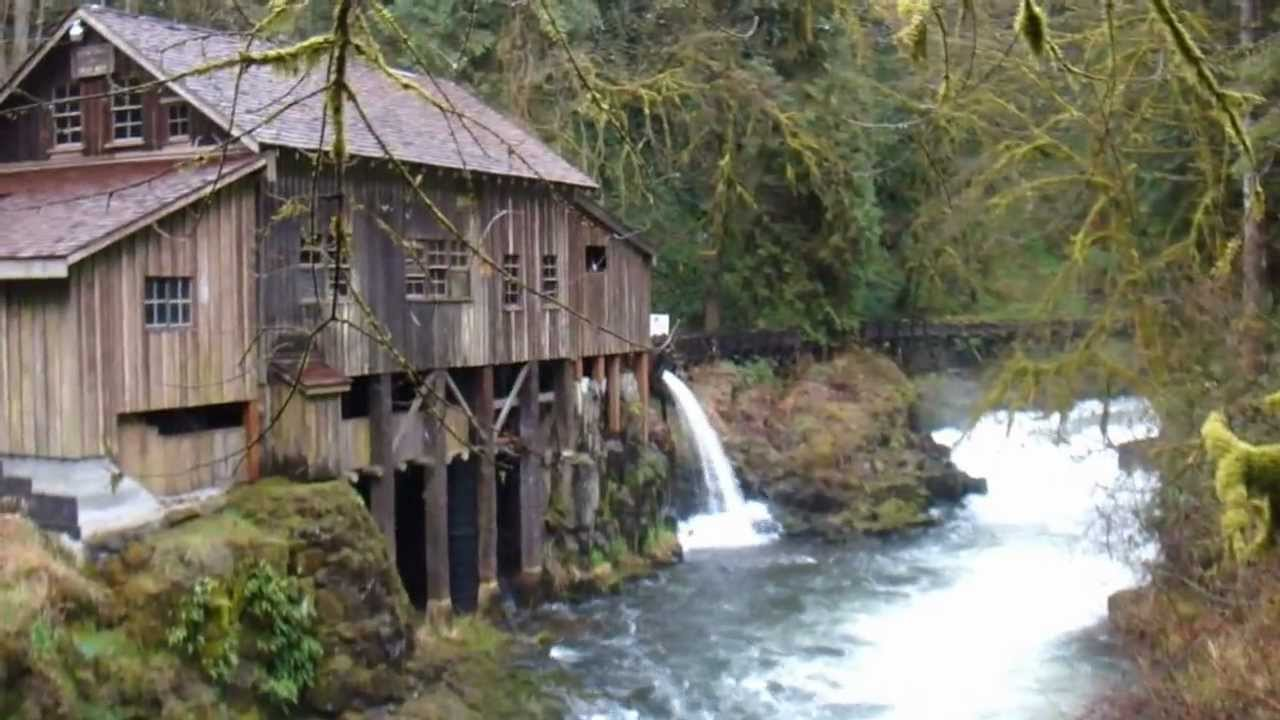 Cedar creek grist mill woodland youtube for The cedar mill