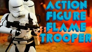 Action Figure do FlameTrooper do novo filme de Star Wars