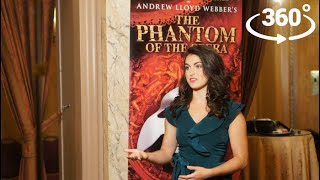 Interview with The Phantom of The Opera Star Eva Tavares | 360° Video