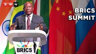 President Cyril Ramaphosa urged leaders at the 13th Brics summit to work together to ensure equal access to Covid-19 vaccines, diagnostics and therapeutics. The summit was held virtually on 9 September 2021.