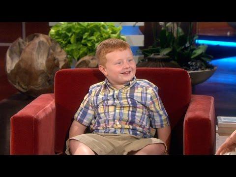 Ellen Meets 'Appntly' Kid, Part 2