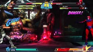Marvel vs Capcom 3: Fate of Two Worlds (Ryu, Chun-Li, Chris Redfield Pt. 1/2)