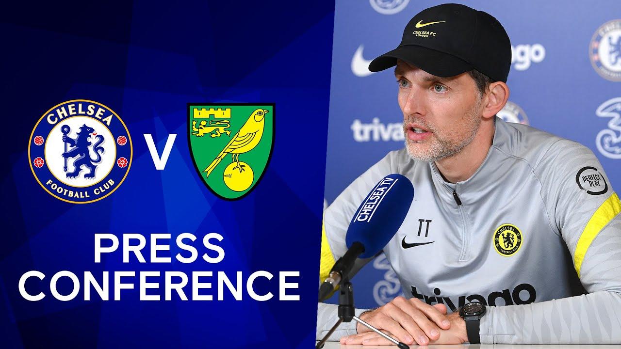 Thomas Tuchel Gives Lukaku & Werner Update | Press Conference: Chelsea v Norwich | Premier League