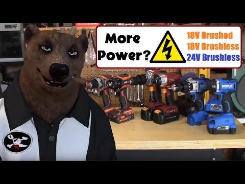 Best Cordless Drill and Impact Driver - 18V vs 24V