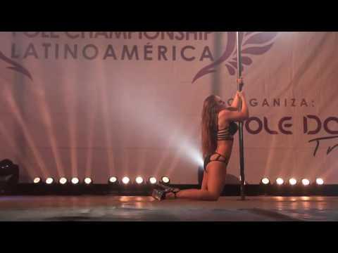"""3º LUGAR POLE GLAM PROFESIONAL """"ELÉVATE POLE CHAMPIONSHIP LATINOAMÉRICA 2016"""" - Dolores González"""