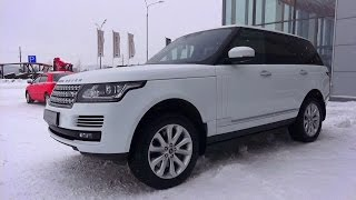 видео Новый Range Rover Velar: экстерьер и интерьер автомобиля.