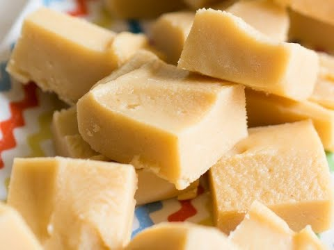 Clotted Cream Vanilla Fudge  (Soft & Creamy)
