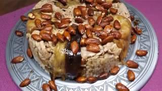 maklube (hähnchen-auberginen-reis torte)
