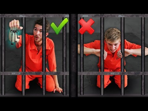 Prison Escape Race Challenge!!