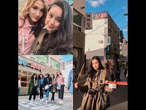 NYOBAIN STREET FOOD KOREA - Chintya Gabriella VLOG #2