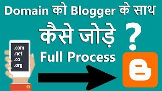 How To Setup Custom Domain On Blogger With Godaddy | Step By Step Full Process In Hindi