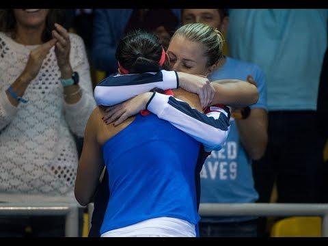Highlights: Caroline Garcia (FRA) v Petra Kvitova (CZE)