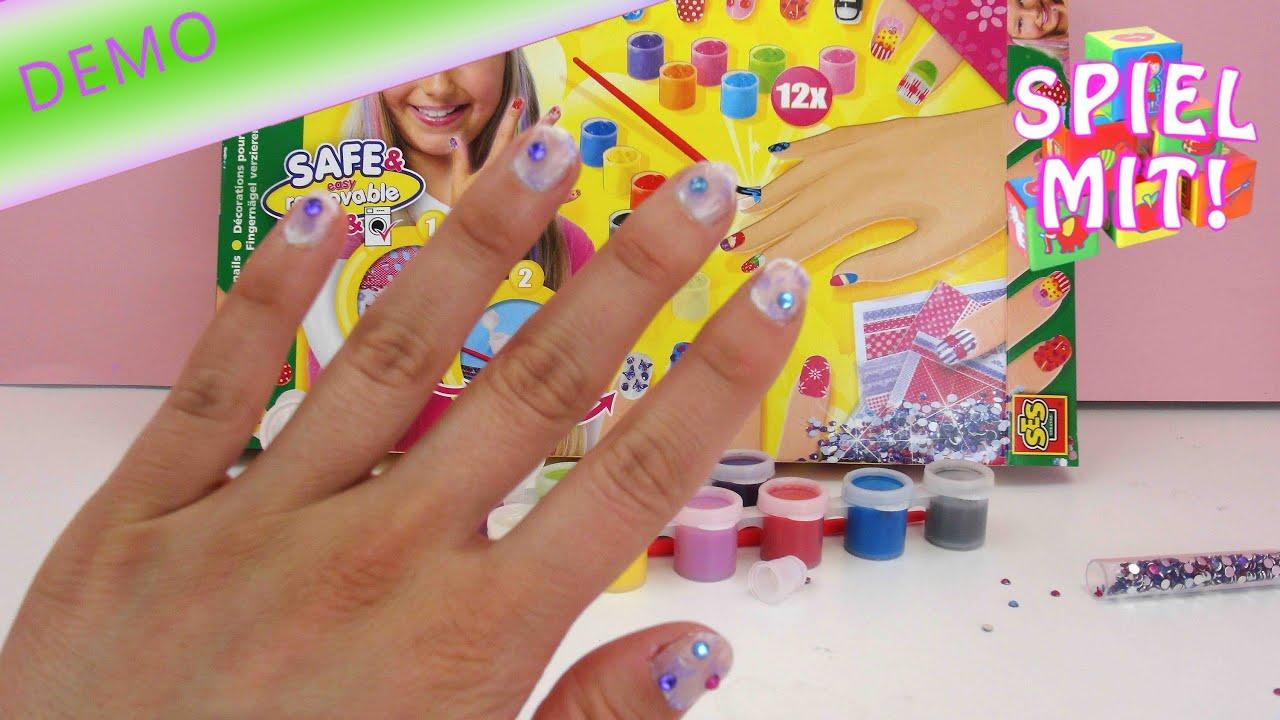 Fingernägel Design selber machen einfach - SES Creative Nageldesign ...