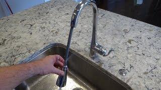 kitchen faucet hose replacement moen pulldown spray hose