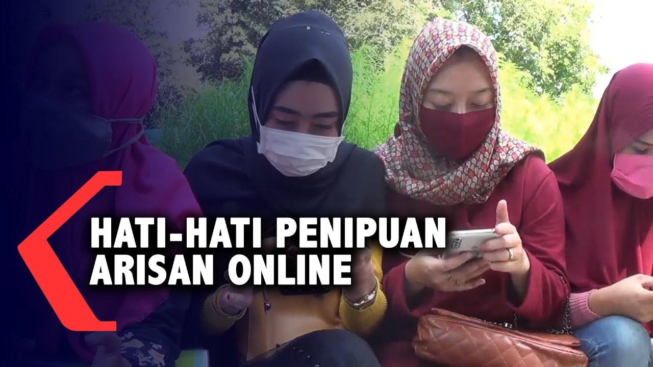 Tertipu Arisan Online Ibu Ibu Lapor Polisi Youtube