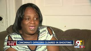Body camera shows Cincinnati police confront woman with knife
