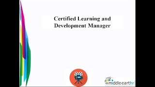 Certified learning and development manager overview