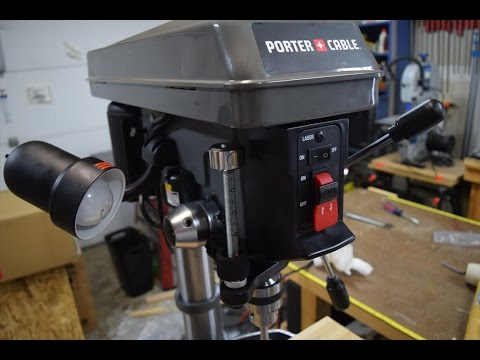 harbor freight    speed drill press unboxing doovi
