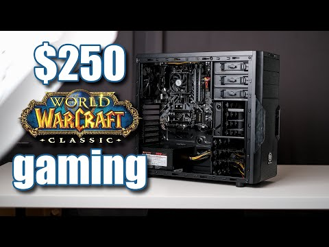 New $250 World Of Warcraft Classic Gaming PC