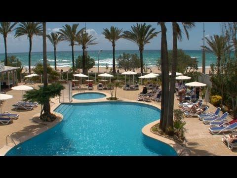 Mallorca - Playa De Palma / HOTEL HSM GOLDEN PLAYA / Beach - Strand - Playa / Majorca Island
