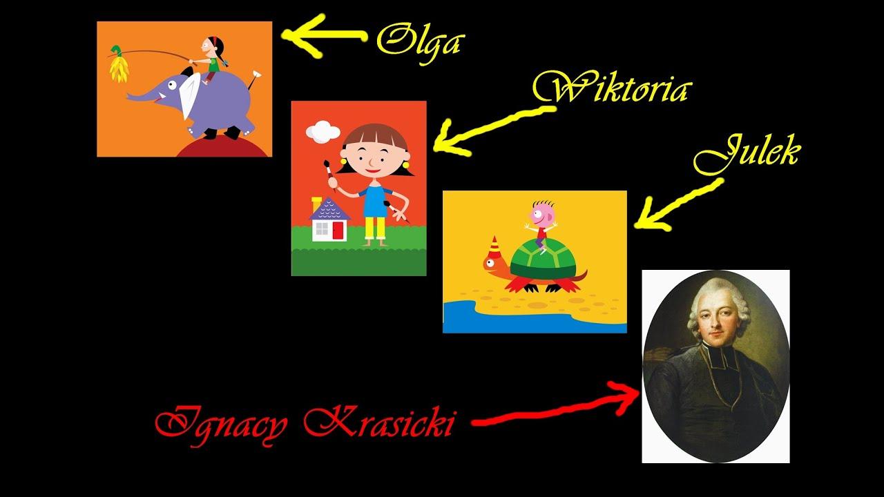 Ignacy Krasicki bajki youtube