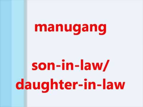 Learn Tagalog (Filipino) Language, Titles for   Family members