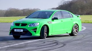 Chris Harris Lap: Vauxhall VXR8 GTS-R | Extra Gear | BBC