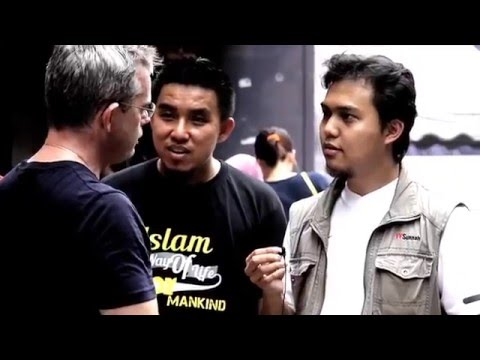 Street Dawah Malaysia | March 2014 | Multiracial Reverted Muslims (MRM)