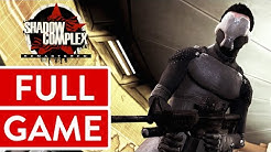 Shadow Complex Remastered PC FULL GAME Longplay Gameplay Walkthrough Playthrough VGL