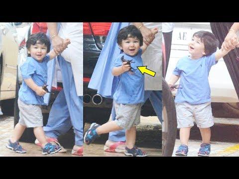 Kareena Kapoor Khan's Son Taimur Ali Khan Waves Media Photographer In A Fun Way Like Never Before