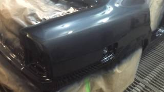 видео Особенности покраски кузова BMW