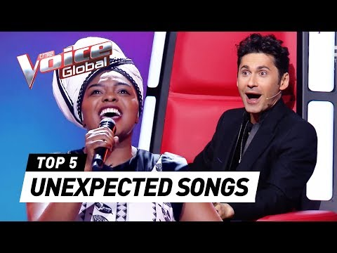 The Voice coaches SHOCKED after hearing unexpected songs