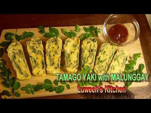 Tamagoyaki with Malunggay