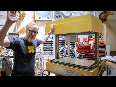 Adam Savage's Vacuum Forming Machine