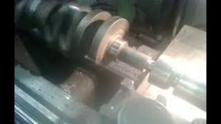 Ремонт коленчатого вала автомобиля MERCEDES-BENZ двигатель OM 602