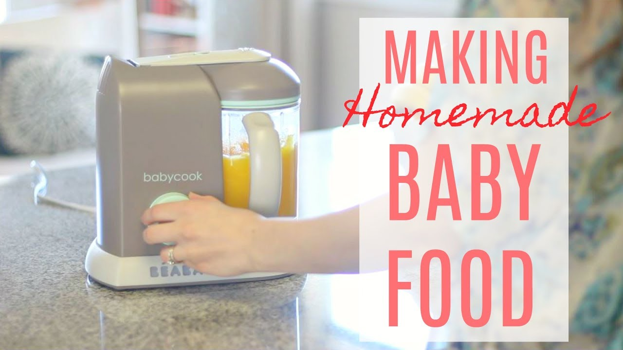 Making Homemade Baby Food as a Busy Working Mom! Justine Marie