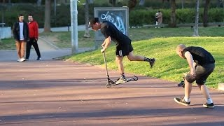 Team Dogg in Barcelona featuring Leo Spencer, Luis Oppel, Hugo Svare, Arnaud Warneup and more!
