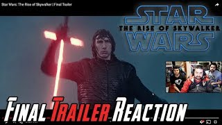 Star Wars: The Rise of Skywalker Angry Final Trailer Reaction!