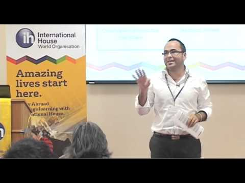 Jamie King at the International House Conference 2012