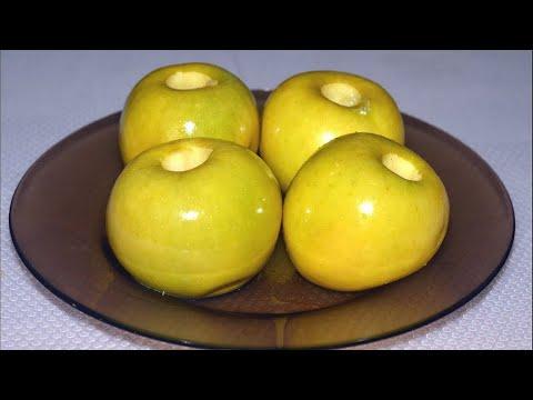 Печеные яблоки в микроволновке./Baked Apple.