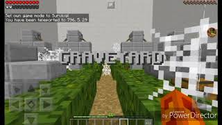 IM STUCK Minecraft PE Find the button Part 2