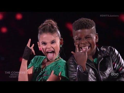 Ariana Greenblatt & Artyon Celestine - Dancing With The Stars Juniors DWTS Juniors Episode 2