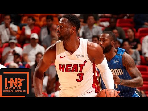 Miami Heat vs Orlando Magic Full Game Highlights | 10.08.2018, NBA Preseason