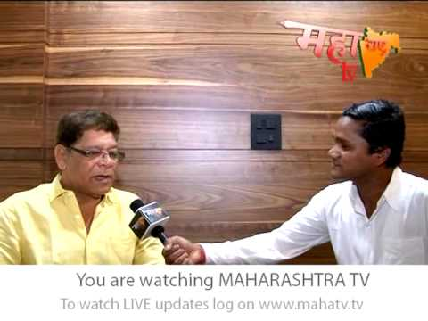 Special Interview With Mohan Joshi  By Maharashtra TV