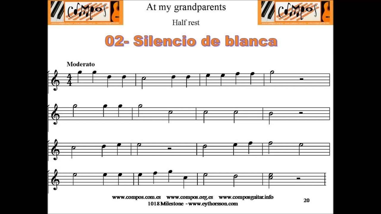 02 A Mis Abuelos Silencio De Blanca