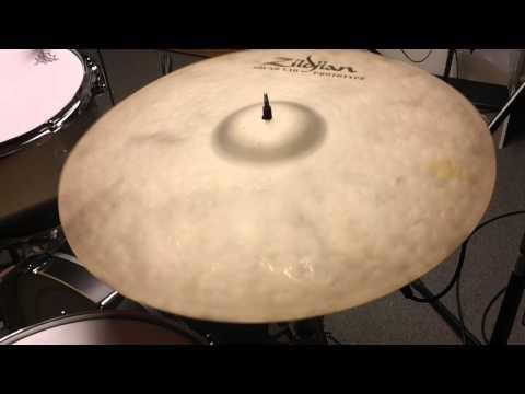 "*SOLD* Zildjian Prototype K Custom Organic Ride Cymbal 21"""