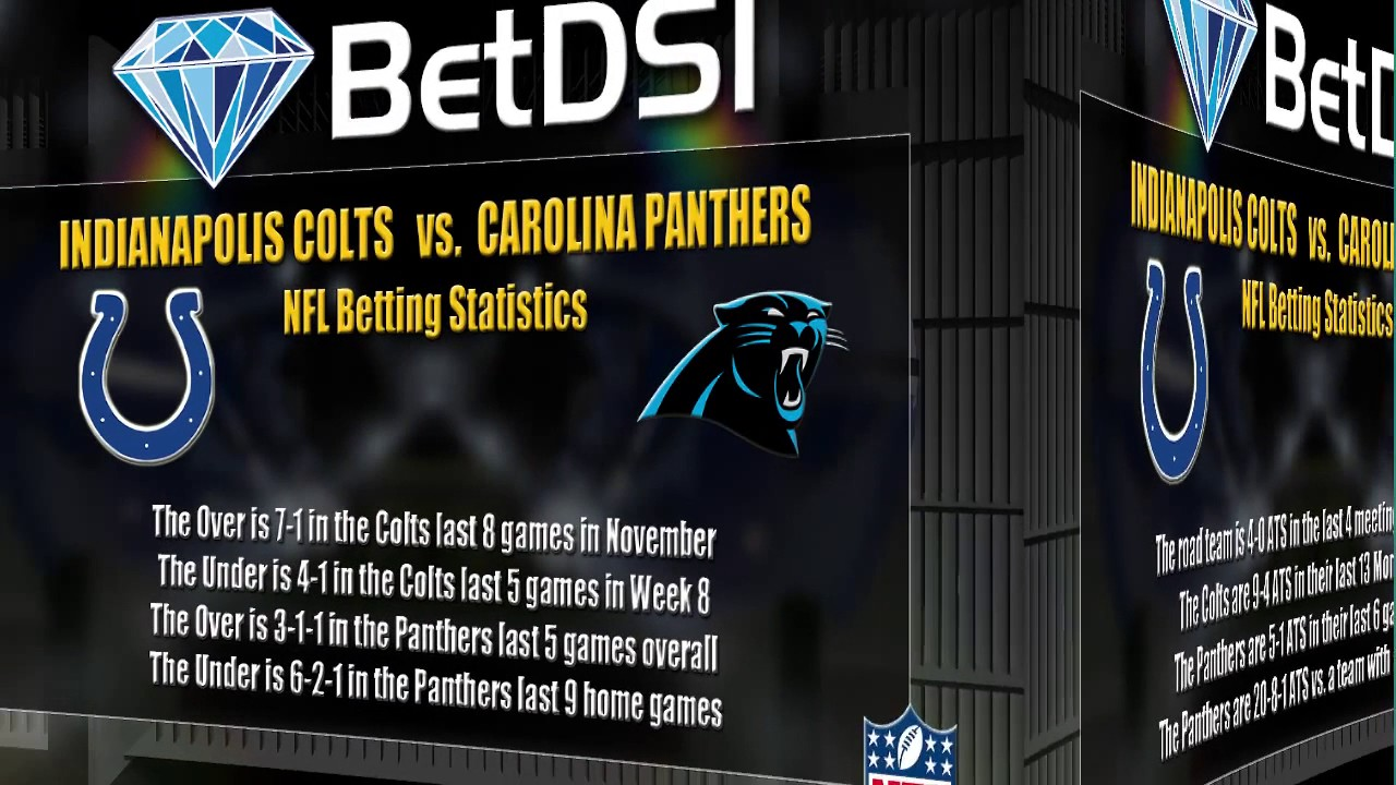 panthers vs colts live odds on nfl