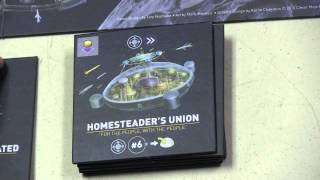 Alien Frontiers: Factions Review - with Tom Vasel